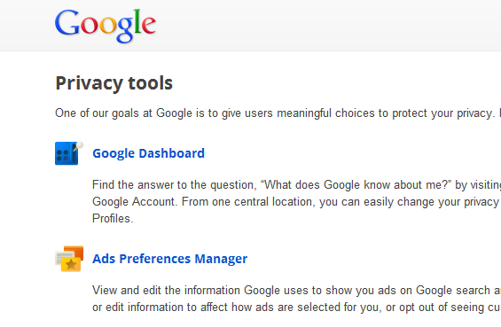 google-privacy-tools