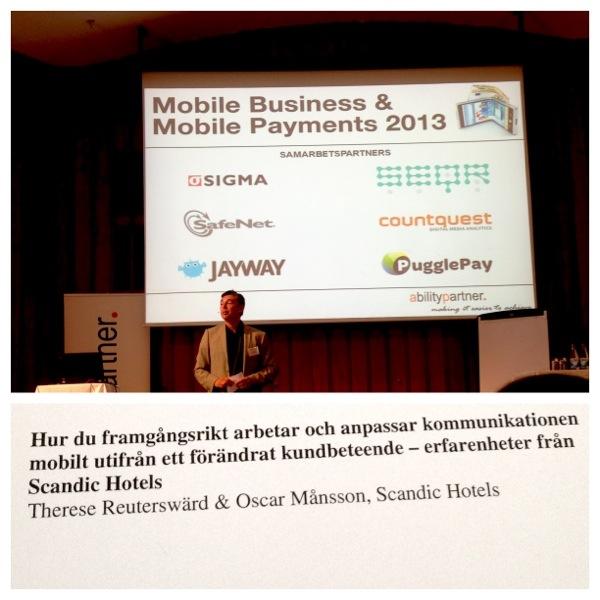 Föreläsning om mobila affärer